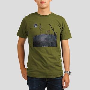 walk in the cemetery Organic Men's T-Shirt (dark)