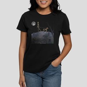 walk in the cemetery Women's Dark T-Shirt