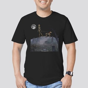 walk in the cemetery Men's Fitted T-Shirt (dark)