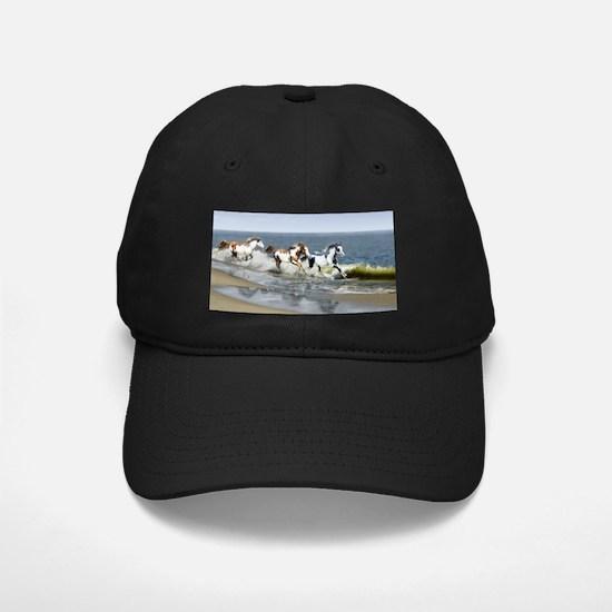 Painted Ocean Baseball Hat