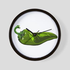 chile pepper Wall Clock