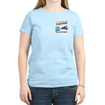 Gas Aid - Take The Train Women's Pink T-Shirt