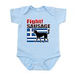 Fight! SAUSAGE Infant Bodysuit