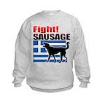 Fight! SAUSAGE Kids Sweatshirt