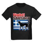 Fight! SAUSAGE Kids Dark T-Shirt