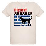 Fight! SAUSAGE Organic Kids T-Shirt