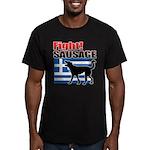 Fight! SAUSAGE Men's Fitted T-Shirt (dark)