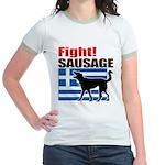 Fight! SAUSAGE Jr. Ringer T-Shirt
