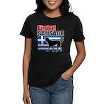 Fight! SAUSAGE Women's Dark T-Shirt