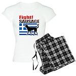 Fight! SAUSAGE Women's Light Pajamas