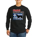 Fight! SAUSAGE Long Sleeve Dark T-Shirt