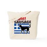 Fight! SAUSAGE Tote Bag