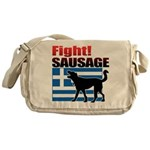 Fight! SAUSAGE Messenger Bag