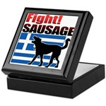 Fight! SAUSAGE Keepsake Box
