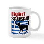 Fight! SAUSAGE Mug