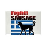 Fight! SAUSAGE Rectangle Magnet