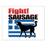 Fight! SAUSAGE Small Poster