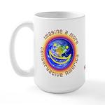 Imagine...Conservative America Large Mug