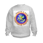 Imagine...Conservative America Kids Sweatshirt
