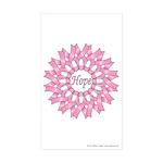 Circle of Hope Sticker (Rectangle 50 pk)