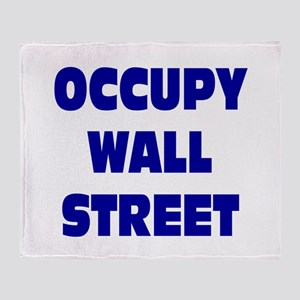 Occupy Wall Street: Throw Blanket