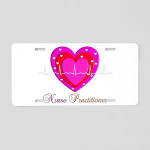 Nurse Practitioner III Aluminum License Plate