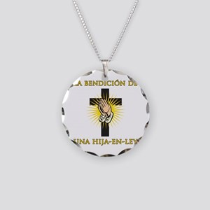 Blessed Daughter-in-Law Necklace Circle Charm