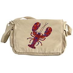 POP LOBSTER Messenger Bag