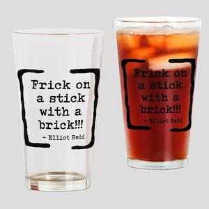 Frick on a Stick Drinking Glass