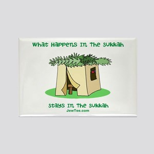 Sukkah Happenings Rectangle Magnet