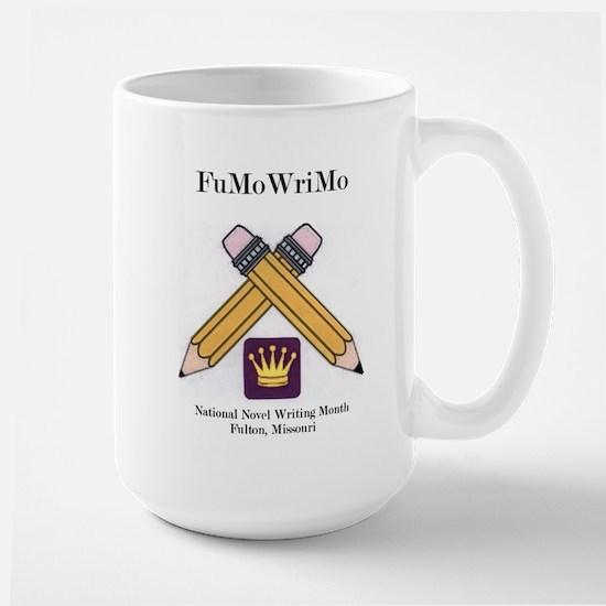 FuMoWriMo logo Mugs