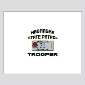Nebraska State Patrol Small Poster
