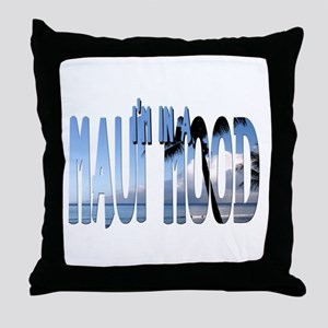Maui Mood Throw Pillow