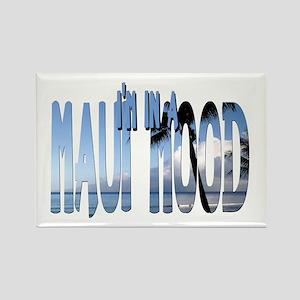 Maui Mood Rectangle Magnet