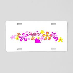 Maltese Aluminum License Plate