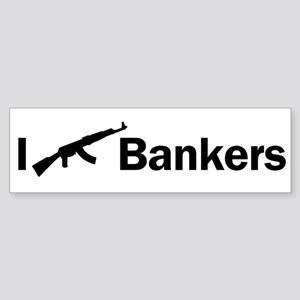 i ak47 bankers light colores Sticker (Bumper)