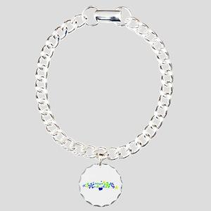 Pekingese Charm Bracelet, One Charm