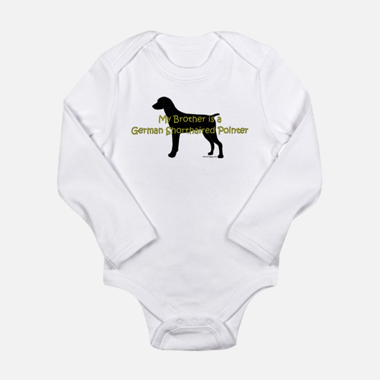 My Brother is GSP Long Sleeve Infant Bodysuit