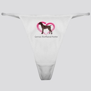 Heart My GSP Classic Thong