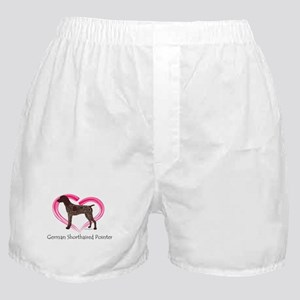 Heart My GSP Boxer Shorts