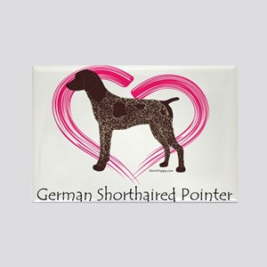 Heart My GSP Rectangle Magnet