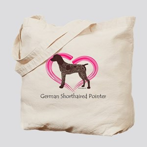Heart My GSP Tote Bag