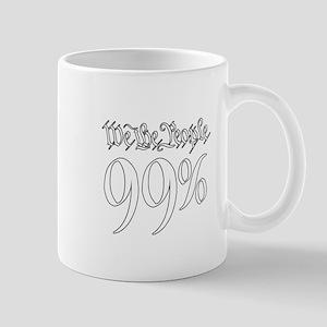 we the people 99% white Mug