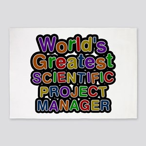 World's Greatest SCIENTIFIC PROJECT MANAGER 5'x7'