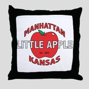 Little Apple Throw Pillow