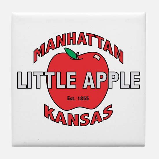 Little Apple Tile Coaster