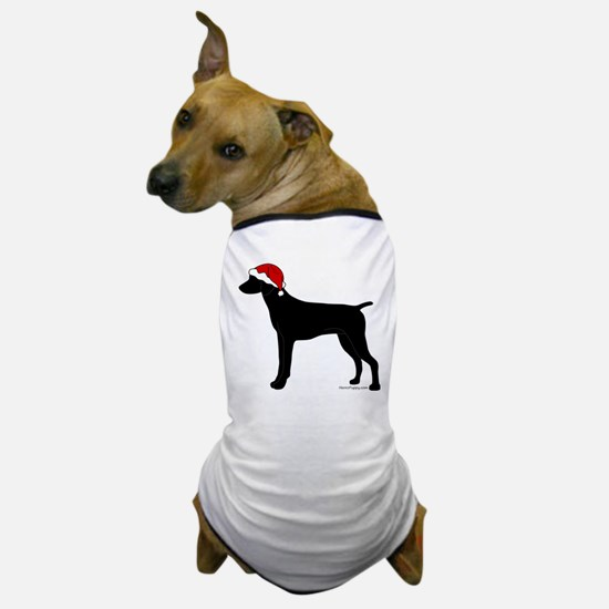 GSP Santa Dog T-Shirt