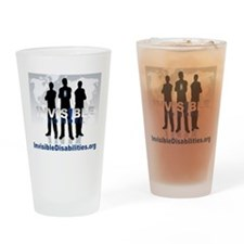 Invisible No More Team Drinking Glass