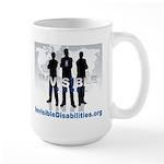 Invisible No More Team Large Mug