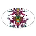 pandemonium Sticker (Oval 10 pk)